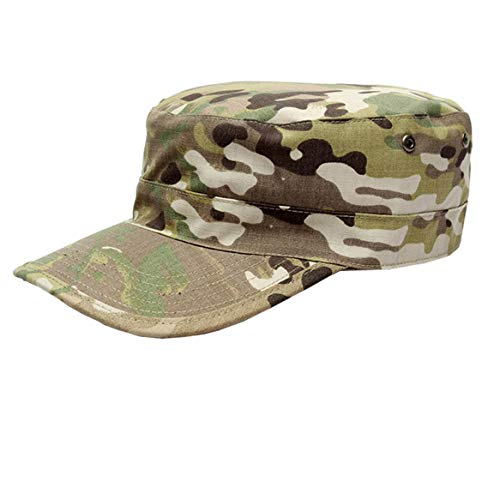Unisex CP-Camo Army Military Cadet Hat Tactical Ripstop Hats Camouflage ()