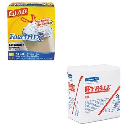 kitcox70427kim41026 – Value Kit – WYPALL X80 shoppro tienda quarterfold toallas 12 1/2 x