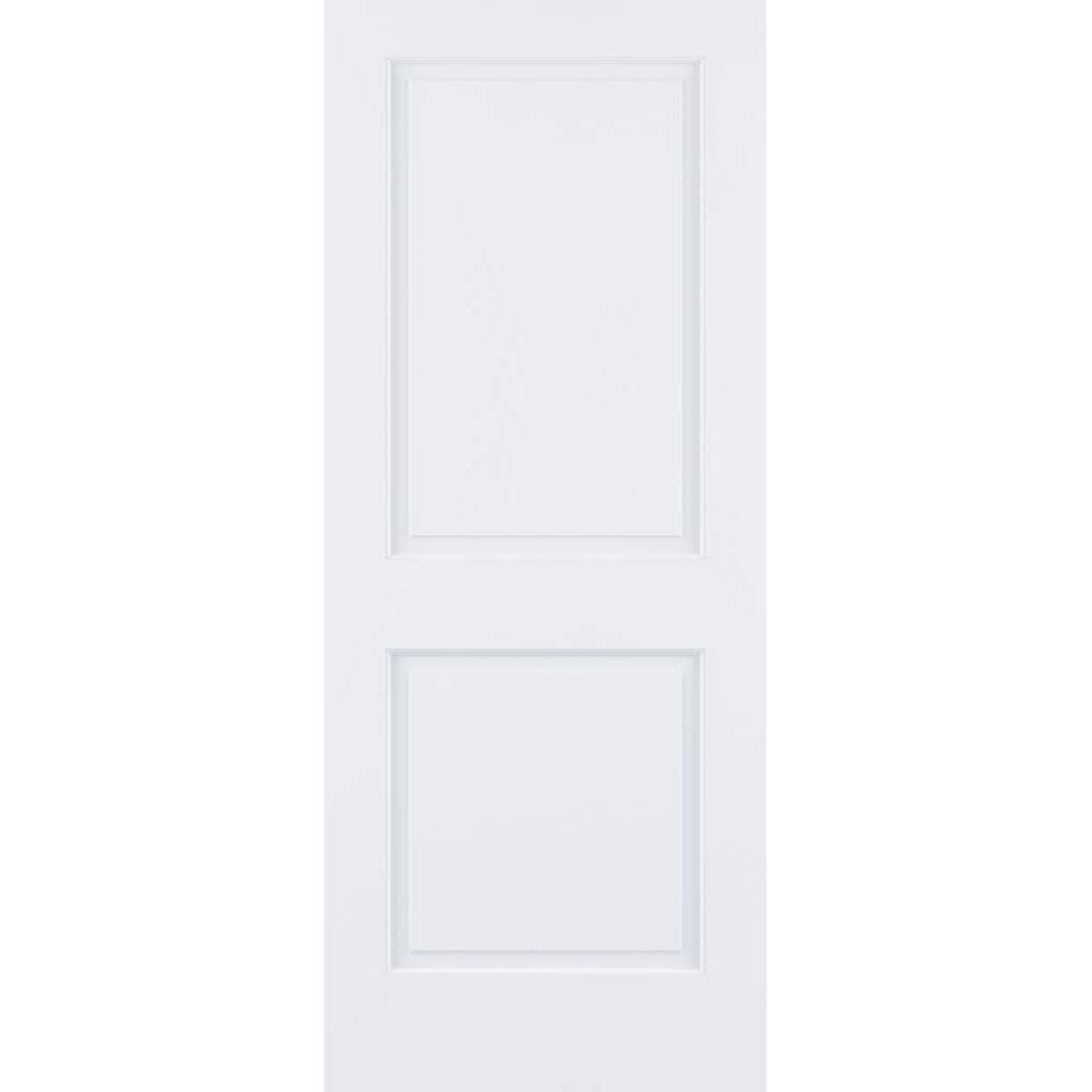 Kimberly Bay 2-Raised Panel White Solid Core Pine Interior Door Slab (80x28) by Kimberly Bay