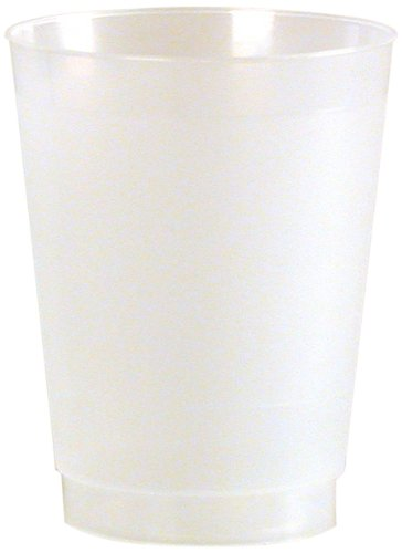 Frost-Flex Plastic Drinking Cup, 14-Ounce, Frosted (500-Count) by WNA