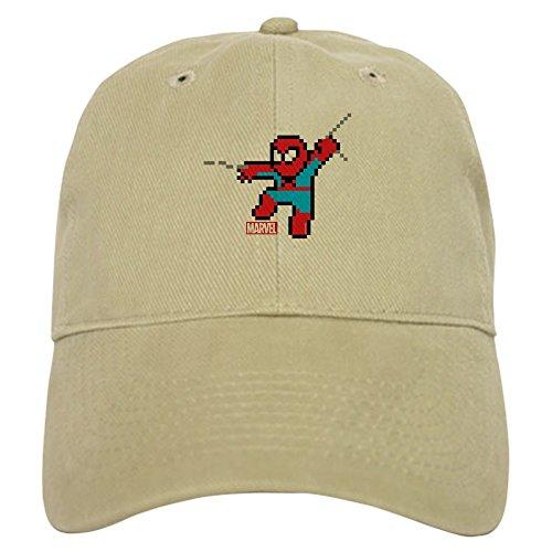 CafePress 8 Bit Spiderman Baseball Cap with Adjustable Closure, Unique Printed Baseball Hat