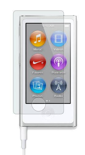 CitiGeeks® 3x Anti-Glare Premium Screen Protector for Apple iPod nano 7th generation Fingerprint Resistant. Matte. Pack of 3. CitiGeeks® Retail Package.