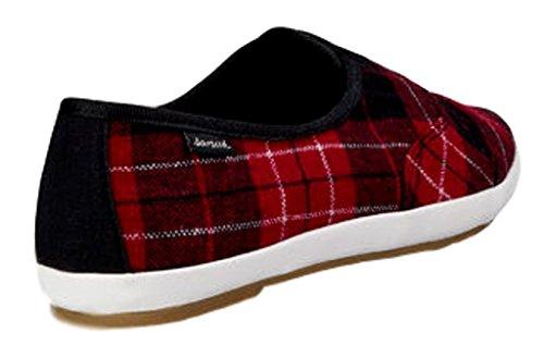 Plaid Sanuk Shoes 5 Kat Red Paw Womens Size 7 TX vwvIzqr
