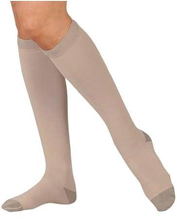 Health & Beauty Juzo 2061 Silver Soft Open Toe Knee Highs 20-30 Mmhg Reg