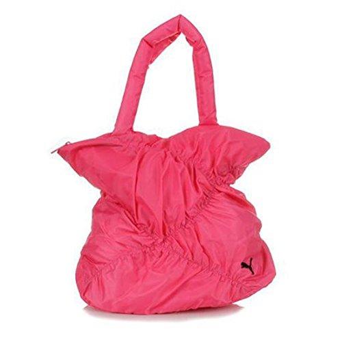 Damen Puma Dizzy Shopper Pink Rouge Rot Damen sportliche Schulter Tasche