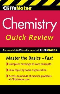 CliffsNotes Chemistry Quick Review (Paperback)--by Robyn L. Ford [2011 Edition]