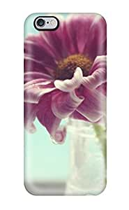 Awesome ENJOYCASE Defender Tpu Hard Case Cover For iphone 6 4.7- Flower Vase