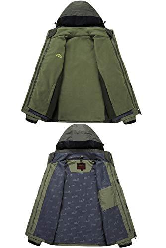 acampan 1 al Chaquetas los 8XL los Recorrido Libre Rojo en Aire para Hombres tamaño 3 más de Interior Caza Deportes HAINE Que montañista el XL tUqw6d6
