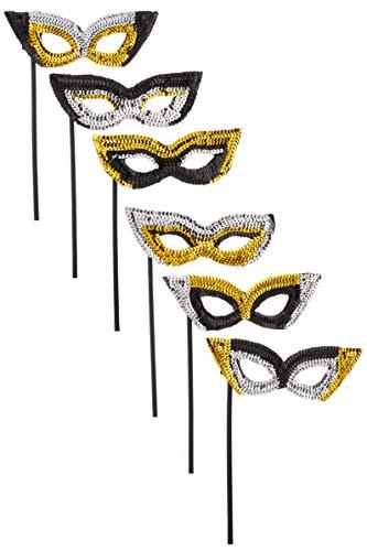 Amscan 360289 mask, 9.5