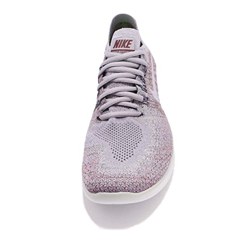 ... Nike Womens Gratis Rn Flyknit 2017 Løpesko Atmosfære Grå / Provence  Lilla
