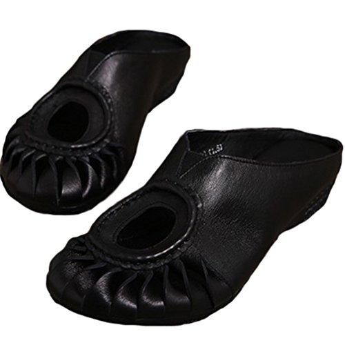 Vogstyle - Pantuflas Mujer Negro - negro