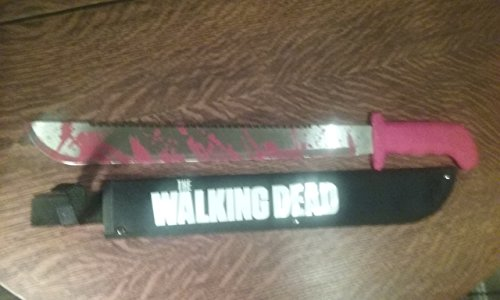 The Walking Dead Rick Grimes Red Handle Machete Prop -