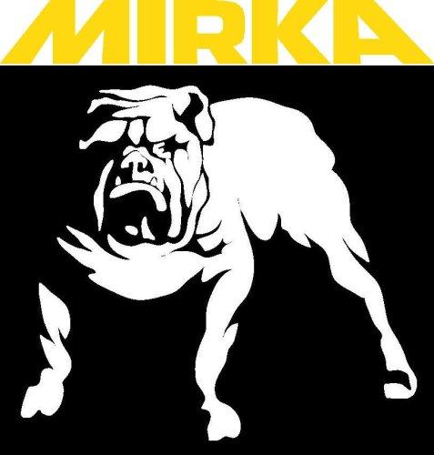 Mirka 23-388-080 5'' 80 Grit No-Hole Adhesive Sanding Discs - 100 Pack