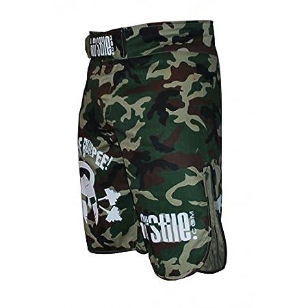 Camouflage Fight Shorts Kill The Burpee 2.0