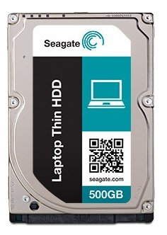 Seagate Laptop Thin 500 GB 7200RPM SATA 6 GB/s 32 MB Cache 2.5 Inch Hard Disk Drive (ST500LM021) (Notebook Drive Hard Ata 6)