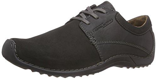 camel active MANILA 292.27.01 hommes Chaussures à lacets, noir 47 EU grande taille