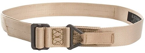 UPC 604544616590, BLACKHAWK! Rigger's Belt 41CQ11DE W/Cobra Buckle Up To 34 Inch Desert Sand, black