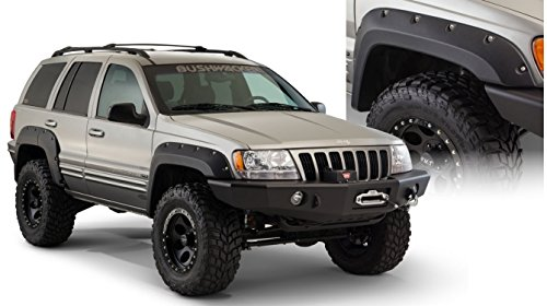 - Bushwacker 10071-07 Bushwacker Cut-Out Fender Flare Jeep Grand Cherokee
