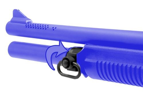 GG&G Rem 870 Qd Front SLG Mount Qd Swvl Gun Stock Accessories