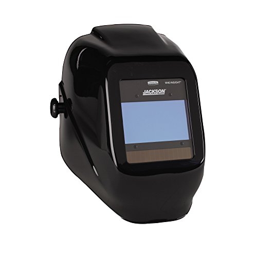 Jackson Safety 46131 Insight Variable Auto Darkening Welding Helmet, HaloX, ADF, Black by Jackson Safety