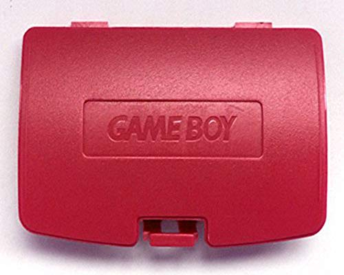 Boy Battery Cover Game Color (Replacement Battery Back Cover Case Door Lid For Gameboy Color GBC (Red))