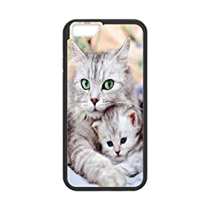 Best Quality [LILYALEX PHONE CASE] Pet Cats For Apple Iphone 6 Plus 5.5 inch screenCASE-11