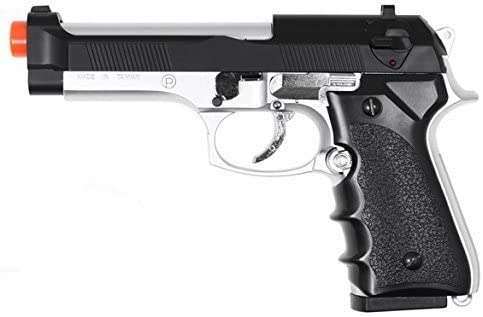 hfc model-118ebs m9 elite heavy weight spring pistol / dual tone by hfc(Airsoft Gun)