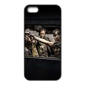 iPhone 4 4s Cell Phone Case Black hf64 mad max furiosa film art tom charlize dark SUX_086093