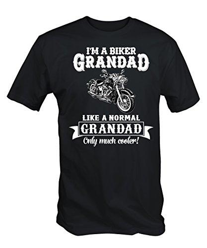 6TN Mens Biker Grandad T Shirt