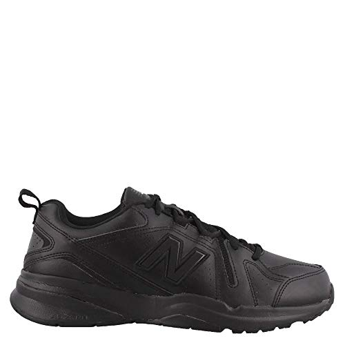(New Balance Men's 608v5 Casual Comfort Cross Trainer Black, 10 2E US)