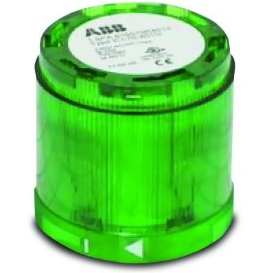 ABB KL70-401G Stack Light, Green, Maintained, 12-240V AC/DC by ABB