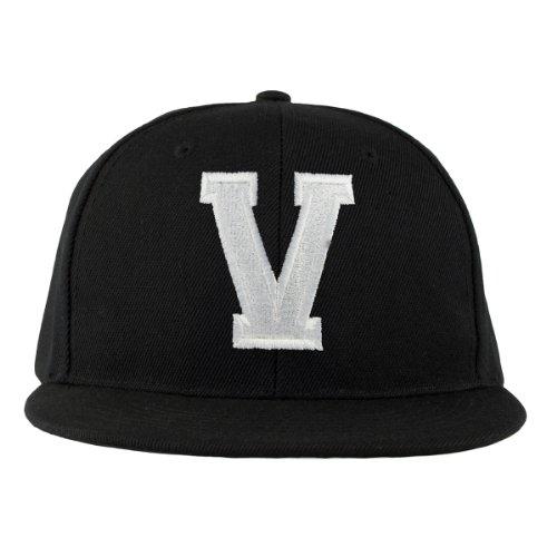 con 4sold Cap letras Z Letter A en blanco V Snapback a negro ErrqY