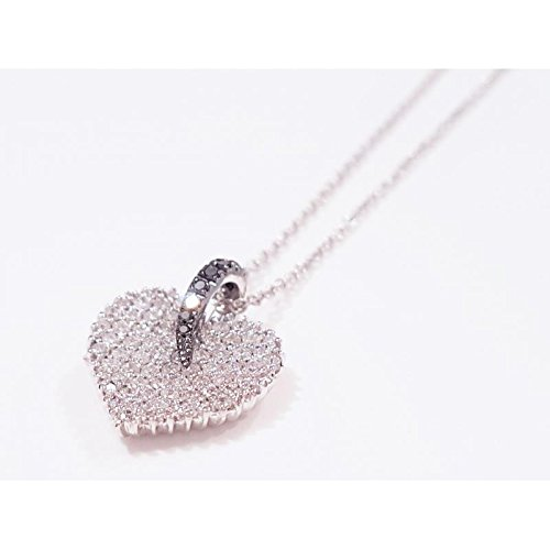 Collier davite cln010044or blanc diamant
