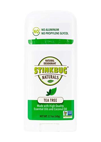 Stinkbug Naturals All Natural Deodorant, Tea Tree, 2.1 Ounce
