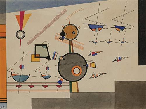 (Berkin Arts Wassily Kandinsky Giclee Art Paper Print Art Works Paintings Poster Reproduction(Floating) #XZZ)