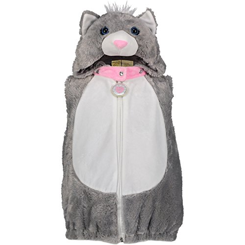 Dream Play Imagine Furry Kitty Animal Plush Deluxe Costume (12 months, Gray Kitty) (Infant Pig Costume)