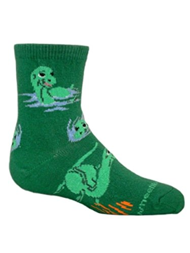 Sea Monster Green Youth child by Wheel House Designs USA Made - Sea Monster Green