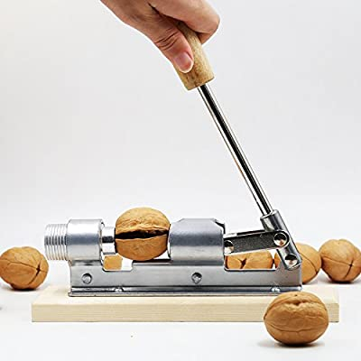Kitchen4less Pecan Walnut Nut Cracker Shell Remover Tool Nutcracker - Heavy Duty