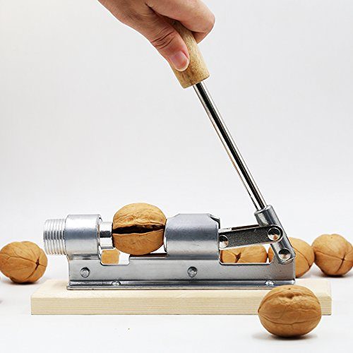 Kitchen4less Pecan Walnut Nut Cracker Shell Remover Tool Nutcracker - Heavy Duty