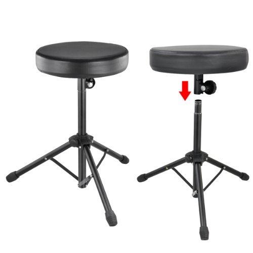 TOOGOO(R) Quality Folding Music Guitar Keyboard Drum Stool Rock Band Piano Chair Seat by TOOGOO(R) (Image #4)