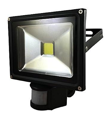 WattEDGE 20W Super Bright LED Motion Sensor Security Light, LED Flood light, IP65 Waterproof, Outdoor Landscape Spotlight Lamp, 6000k White Floodlights