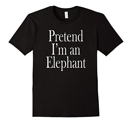 Mens Elephant Costume T-Shirt for the Last Minute Party 2XL -