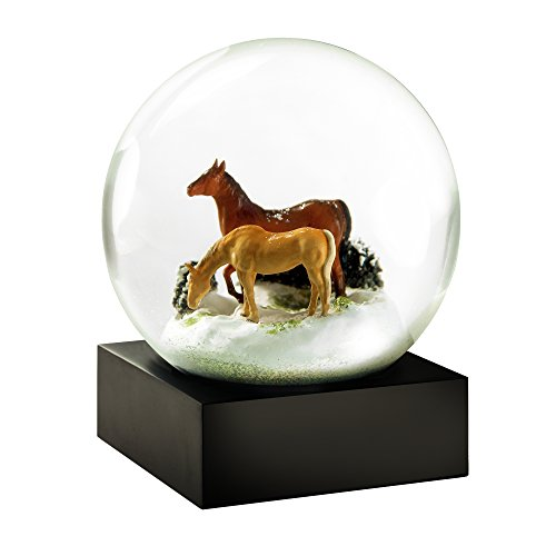 - CoolSnowGlobes Horses Cool Snow Globe
