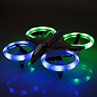 RC Drone- RC Mini Quadcopter Altitude Hold Height Headless RTF 3D 6-Axis Gyro 4CH 2.4Ghz Helicopter Steady Super Easy Fly for Training