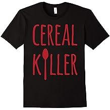 Cereal Killer Funny Breakfast Fan T-Shirt