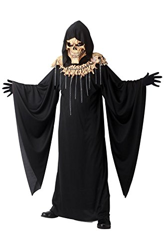 California Costumes Demon of Doom Costume, Large (Devil Robe Child Costume)