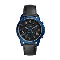Deals on Fossil Grant Sport Chronograph Black Dial Men's Watch