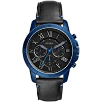 Fossil Grant Sport Chronograph Mens Watch (Black)