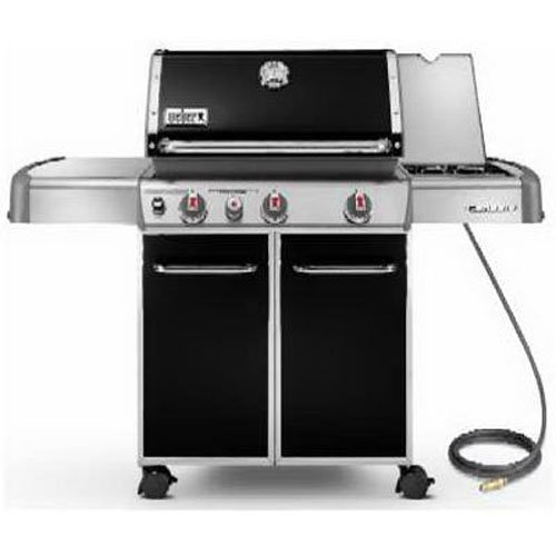 Weber Genesis 6631001 E-330 637-Square-Inch 38,000-BTU Natural-Gas Grill, Black