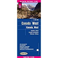 Reise Know-How Landkarte Kanada West (1:1.900.000): world mapping project